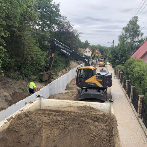 Przebudowa ul. Huculskiej w Szczecinie