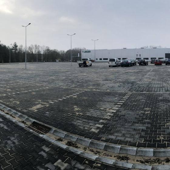 Budowa hali produkcyjnej Jager w Gryfinie