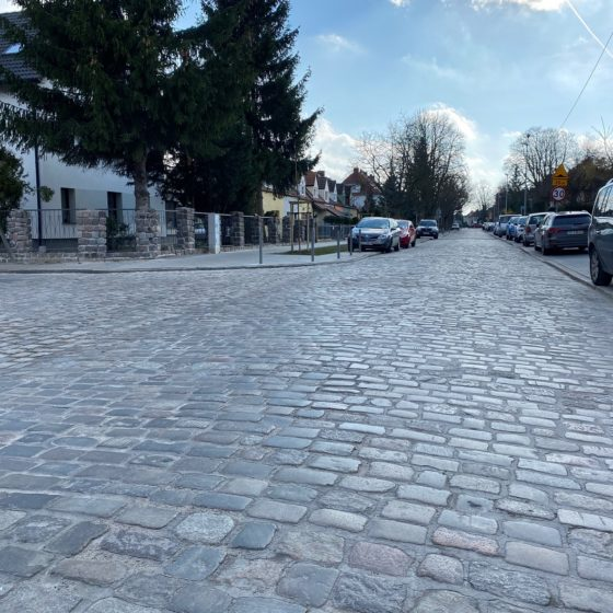 Przebudowa ul. Źródlanej w Szczecinie